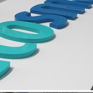 Lettres en PVC 30mm blanc ou couleur