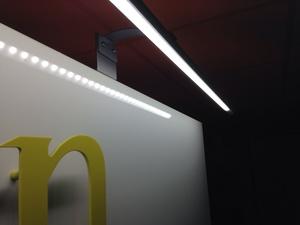 Mini rampe lumineuse